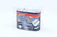 Лампа фарная H4 12V 60/55W P43t Night Breaker Plus (+110) Duo (2 шт) (пр-во OSRAM) 64193NBU-HCB-DUO
