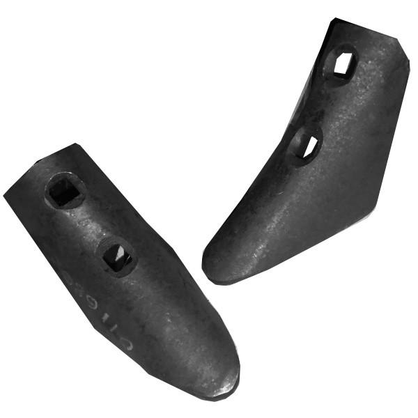Наральник-лапа сеялки (60мм 2отв.) СТС