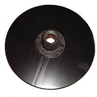 Диск сошника (со ступицей) двухстрочного СЗ-3,6-5,4