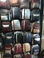 Рюкзаки женские городские кожзам оптом  в ассортименте по цветам и моделям