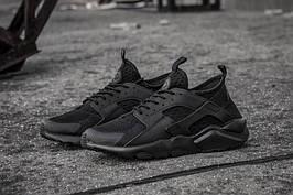 Nike Air Huarache Run Ultra Black Noir (топ реплика)