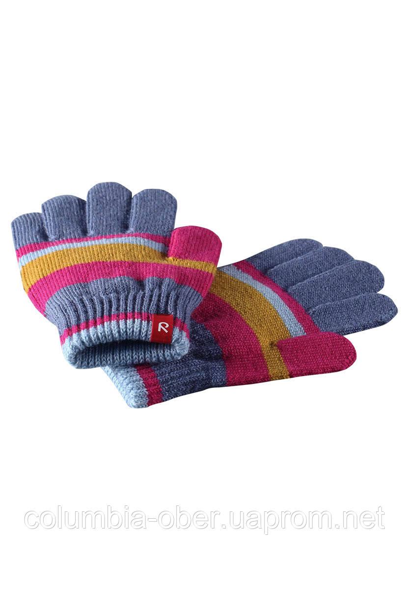 Зимние перчатки для девочки Reima Twig 527274-462A. Размеры 3-6.