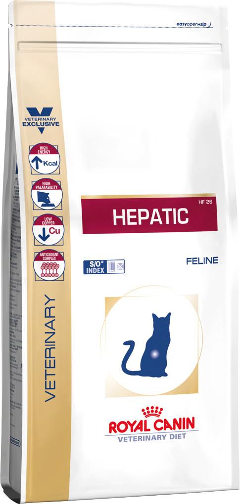 Royal Canin Hepatic Feline 2кг -диета для кошек при болезнях печени