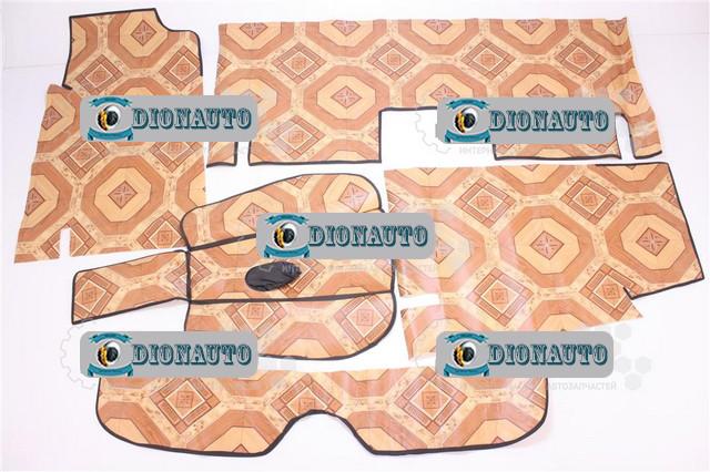 Коврик пола 2101, 2102, 2103, 2104, 2105, 2106, 2107 линолеум к-т 5 шт (ковер салона)  (2103-5109044)