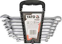 Набор ключей комбинированных [8-19]мм, 8шт.,  YATO  YT-00581