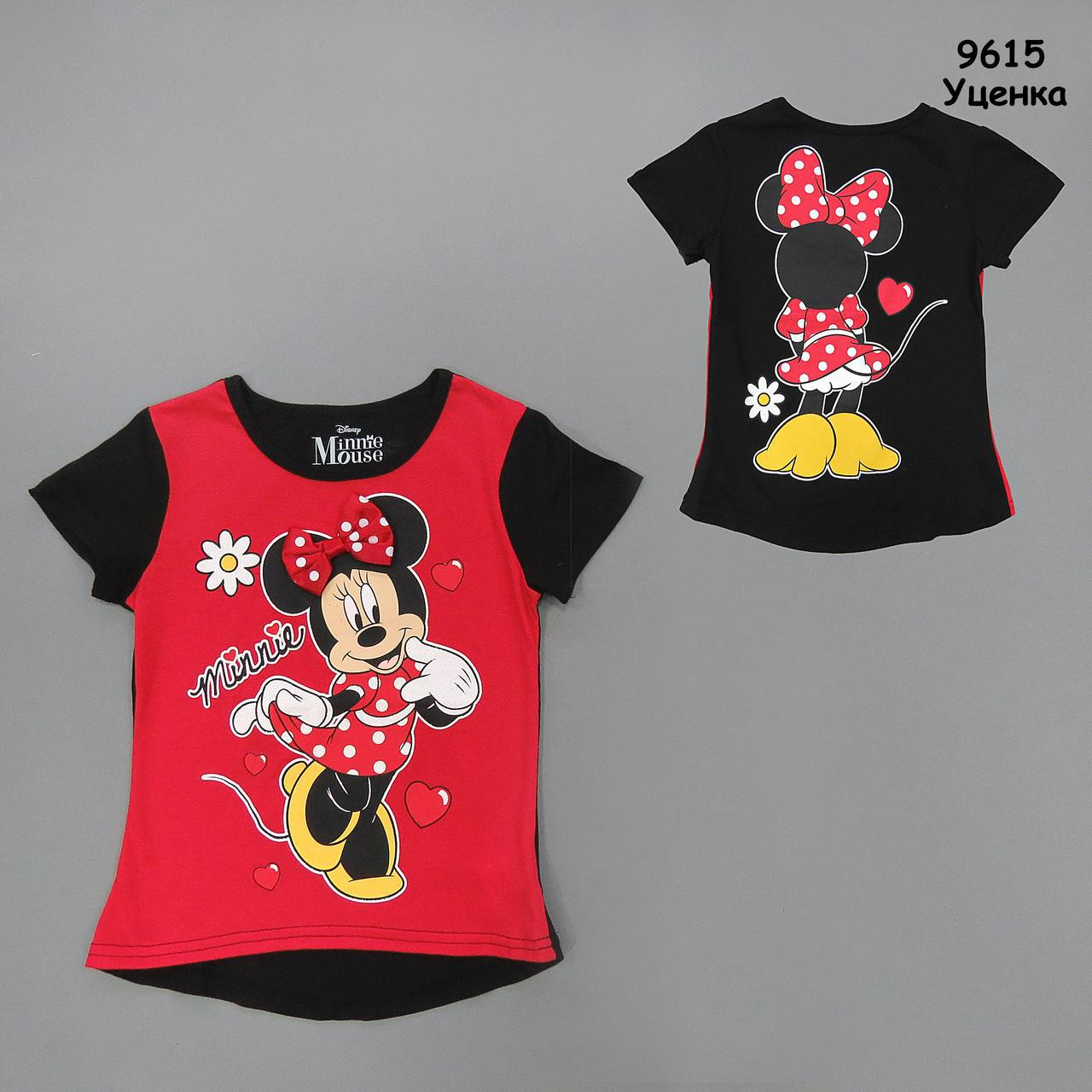 Футболка Minnie Mouse для девочки. 6 лет