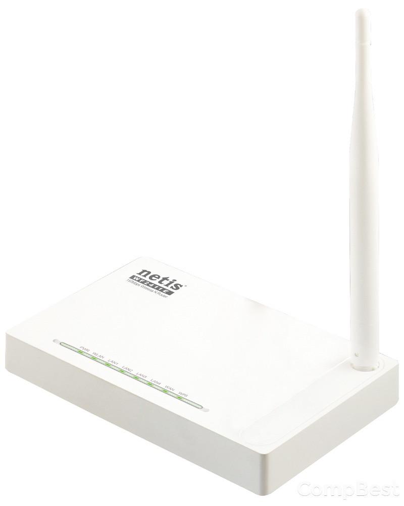 Wi-FI роутер Netis 2411E 2.4GHz / 150MB/s