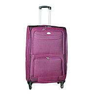 Дорожный чемодан 4 колеса (средний) тёмно-фиолетовый, артикул: 6-240, фото 1