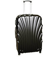 Дорожній чемодан 4 колеса набір 3 штуки чорний, артикул: 6-244, фото 1