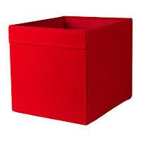 Коробка, красный, 33x38x33 см IKEA DRÖNA 402.493.53