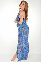 Парео Amarea 17237 P One Size Синий