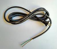 Кабель сетевой для электроинструмента 3.0 м ( H07RN-F  2*1.0 mm )