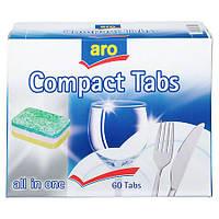 Aro Компактные таблетки все в одном для мытья посуды 60 х 20 г