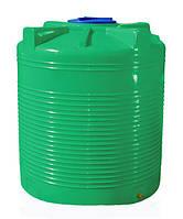 Емкость 1500 л. вертикальная, двухслойная зелёная