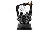 Статуэтка (фигурка) наградная спортивная Волейбол C-3310-C1 (р-р 8х4х14см)