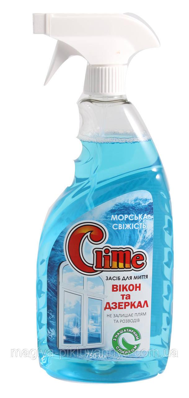 Clime Средство для стекла с нашатырним спиртом, арт 024390