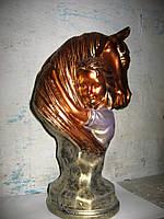 Бюст Конь и Девушка сувенир статуэтка для декора