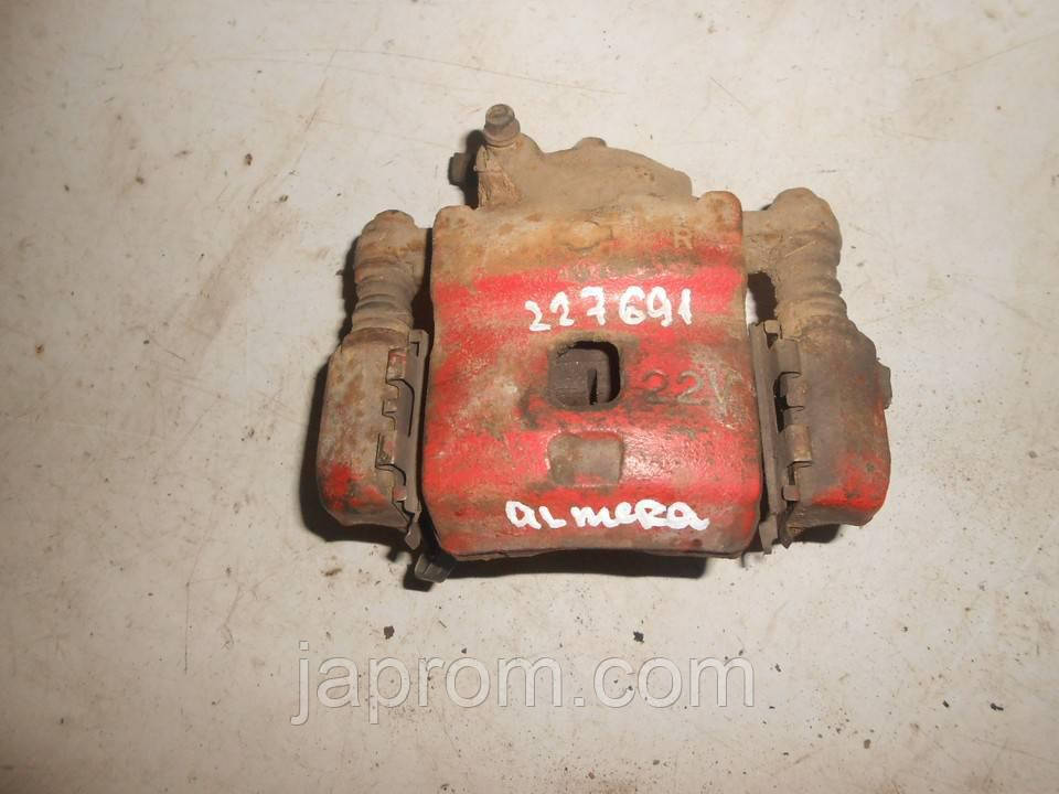Суппорт тормозной передний правый Nissan Almera N15,Nissan Sunny N14 1995-2000г.в.