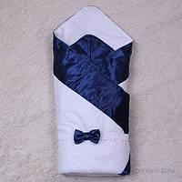 Зимний конверт-одеяло Beauty, синий, фото 1