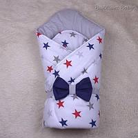 """Зимний конверт-одеяло """"Valleri"""" звезды, фото 1"""