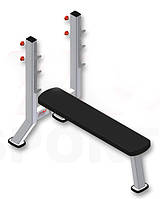Скамья для жима горизонтальная (узкая) SportFit 1129