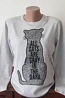 Кофта женская с котиком