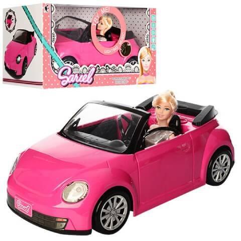 Машинка с Куклой 6633