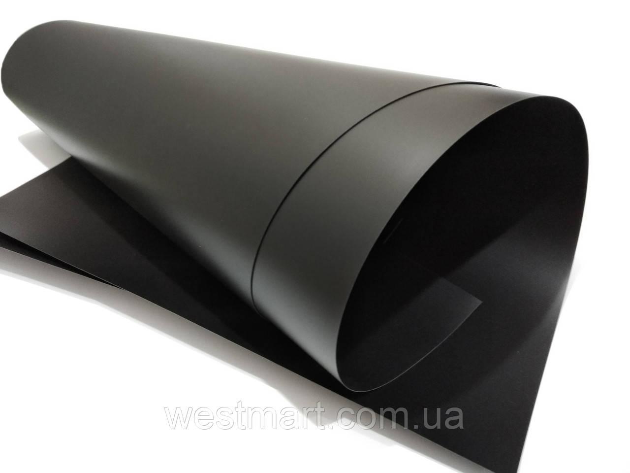 Полипропилен черный 0,3 мм матовый 700х1000мм