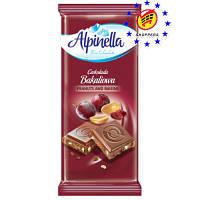 "Шоколад ""Alpinella"" Арахис и Изюм 90г"