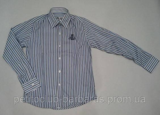 Сорочка для мальчика в полоску
