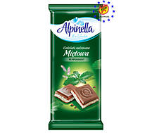 Шоколад Alpinella Mietowa - с мятой.