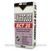 Ancerglob BCT-20 смесь штукатурная цементно-известковая , 25кг