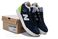 New Balance CT300 Winter Blue/Green С МЕХОМ