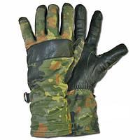 Перчатки НАТО Кожаные камуфляж (Германия)
