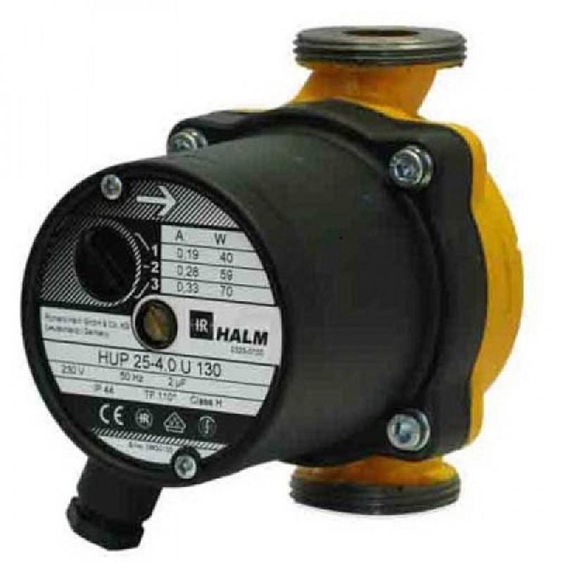 Циркуляционный насос HUPA 25-4.0 U 130 HALM