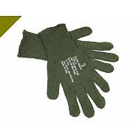 Перчатки НАТО Вязанные зеленые