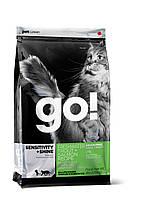 Сухой беззерновой корм «Go! Форель и лосось» (для котят и кошек с чувствительным пищеварением) 0,23кг