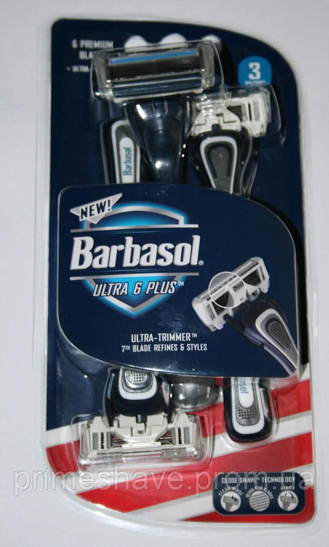 Одноразовый станок для бритья Barbasol Ultra 6 PLUS