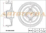 Тормозной барабанNissan Micra K12 2002-2010г.в. 219мм