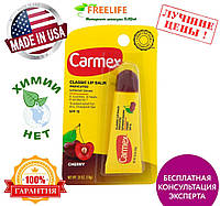Carmex, Бальзам для губ, вишня, фактор защиты от солнца 15, 0,35 унции (10 г)