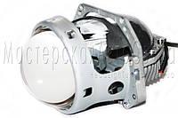 """Светодиодные Bi-LED линзы Optima Premium Professional Series 3,0"""" 5100K 4200Lm, универсальные (H4,H7,H11)"""