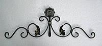 Розет на калитку с цветком 740х250мм вальц., фото 1