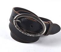 Мужской кожаный ремень DIESEL (черный)