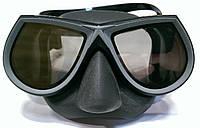 Маска для подводной охоты Mares Star Elite (тонированные стёкла); чёрная, фото 1