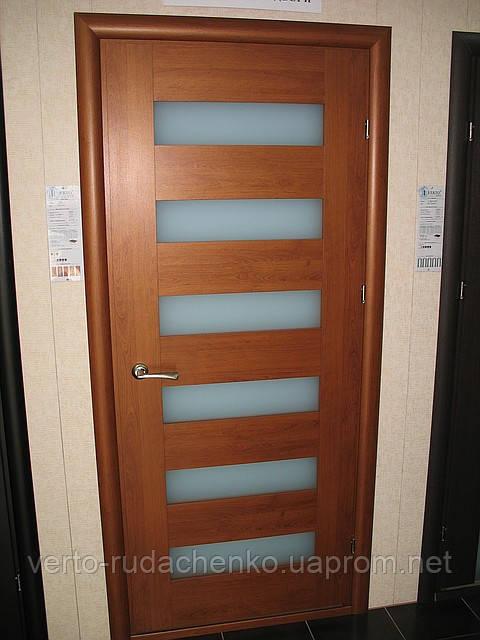 Двери Verto Полло 3.6 цвет Вишня «Резист»