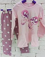 Пижама детская в горошек р 98