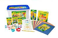 Crayola Супер набор для творчества 75 предметов в боксе синий Super Art and Craft Kit, фото 1