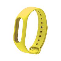 Ремешок браслет Mijobs для Xiaomi Mi Band 2 желтый