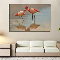 Картина - Фламинго