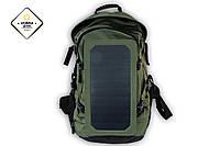 Влагозащищенный рюкзак на 30 л с солнечной батареей